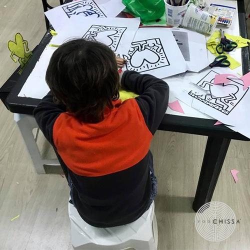 Il treno di Keith Haring